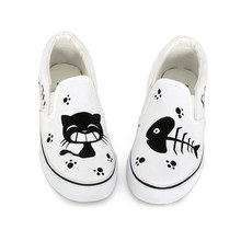Cat Slip-on Sneakers