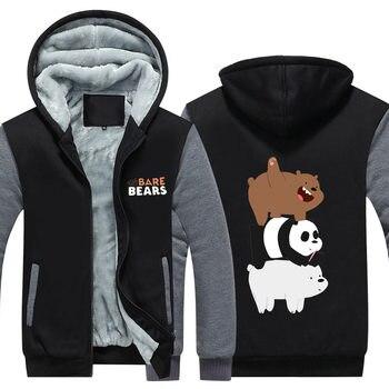 Теплая толстовка Мы обычные медведи 1