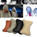 2PCS Vehicle Auto Breathe Car Seat Head Neck Rest Cushion Headrest Pillow Pad Car Auto Seat Cover Headrest Pillow