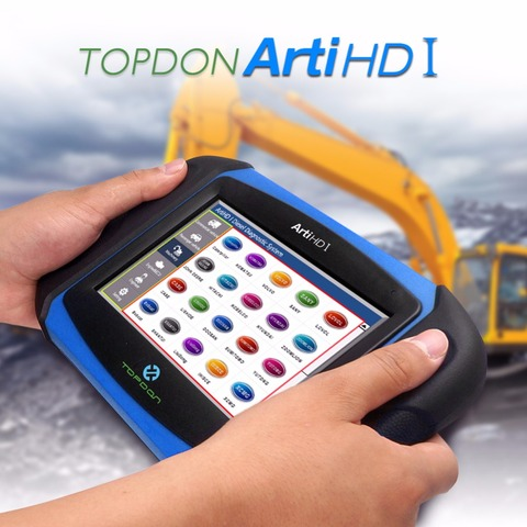 Topdon ArtiHD I Automotive Diagnostic Scan Tool for Heavy Duty and Commercial Vehicles with ECU Reprogram/Calibration Multan