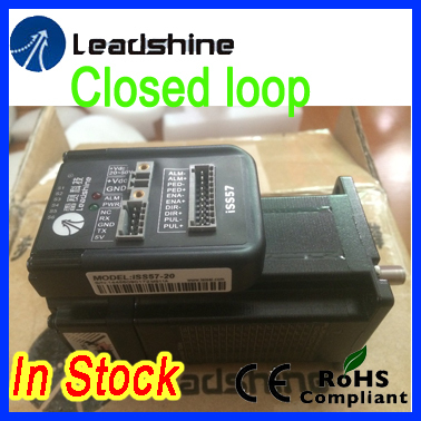 Leadshine  ISS57-20 closed loop stepper hybrid servo with 2 N.m torque 3.5 A  rated phase current  FREE SHIPPING genuine leadshine acs606 dc input brushless servo drive with 18 to 60 vdc input voltage and 6a continuous 18a current