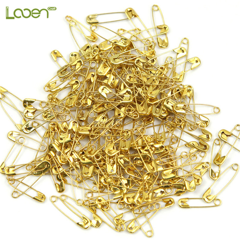 250 Pcs/lot Safety Pins Small Size Simple Safety Pins For Clothes Sewing Supplies Sewing Pins Office Man Women Gift Wholesale(China)