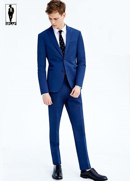 Navy Blue 2 Piece Suit   My Dress Tip