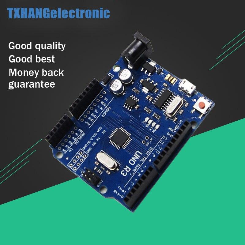 Micro USB UNO R3 MEGA328P CH340 CH340G Conseil ATMEGA328P-AU Contrôleur Module Remplacer ATmega16U2 Pour Arduino uno