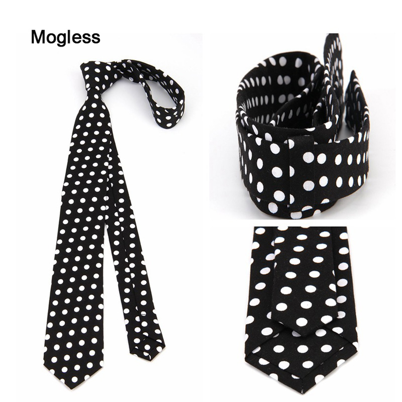 Fashionable Personality Casual Tie Mens Tie Slender Polka Dot Tie Small Kerchief Handkerchief Business Parties New Accessorise