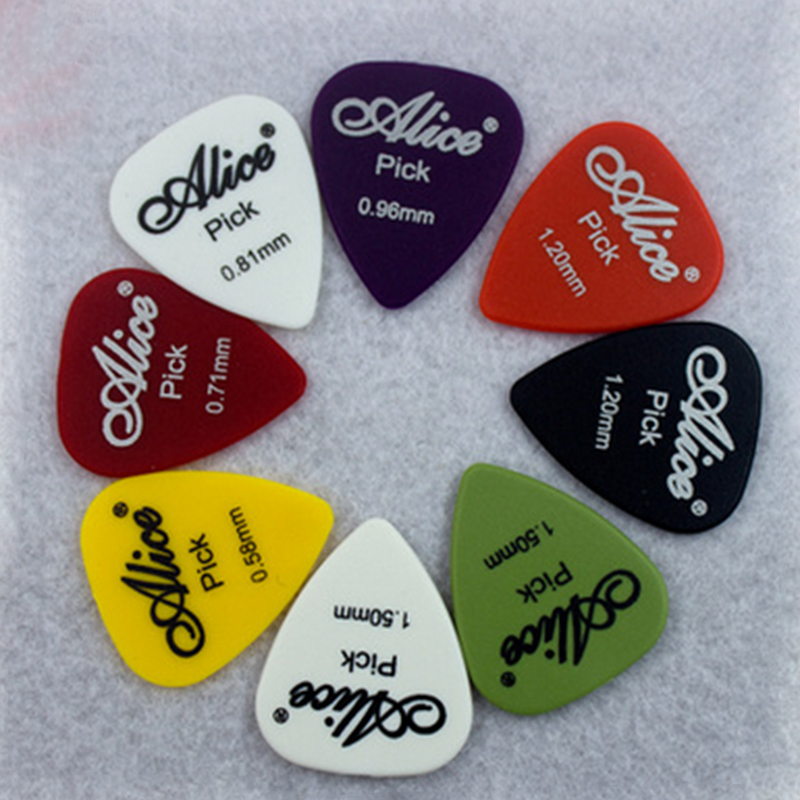 Guitar Patch Genuine Alice AP100Q, AP100P mixed paddle electric guitar folk guitar shrapnel 10 pieces