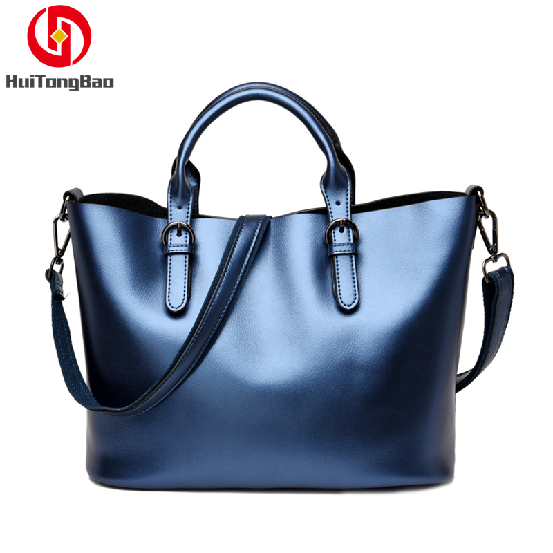 Women Bag Cowhide Genuine Leather Handbags Wild Fashion Composite Shoulder Slung Handbag Crossbody Bags for Women Purse in Top Handle Bags from Luggage Bags
