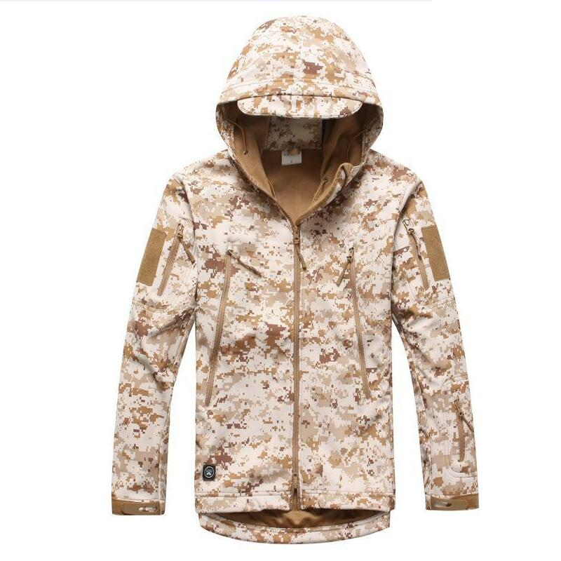17 High quality Lurker Shark skin Soft Shell TAD V 5.0 Military Tactical Jacket Waterproof Windproof Army bomber jacket Clothing