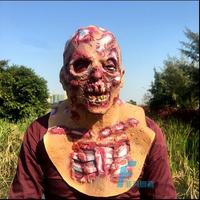Free Shipping Halloween Party Cosplay Horror Scary Skeleton Head Mask Zombie Terrible Ghost Bloody Full Head