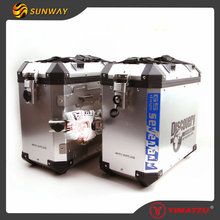 SUNWAY 36L New Model Motorcycle Cargo Box Motorcycle Luggage Box Motorcycle Box for Motorbike