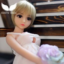 New 65cm Mini sex doll Real Full Body TPE/Silicone doll