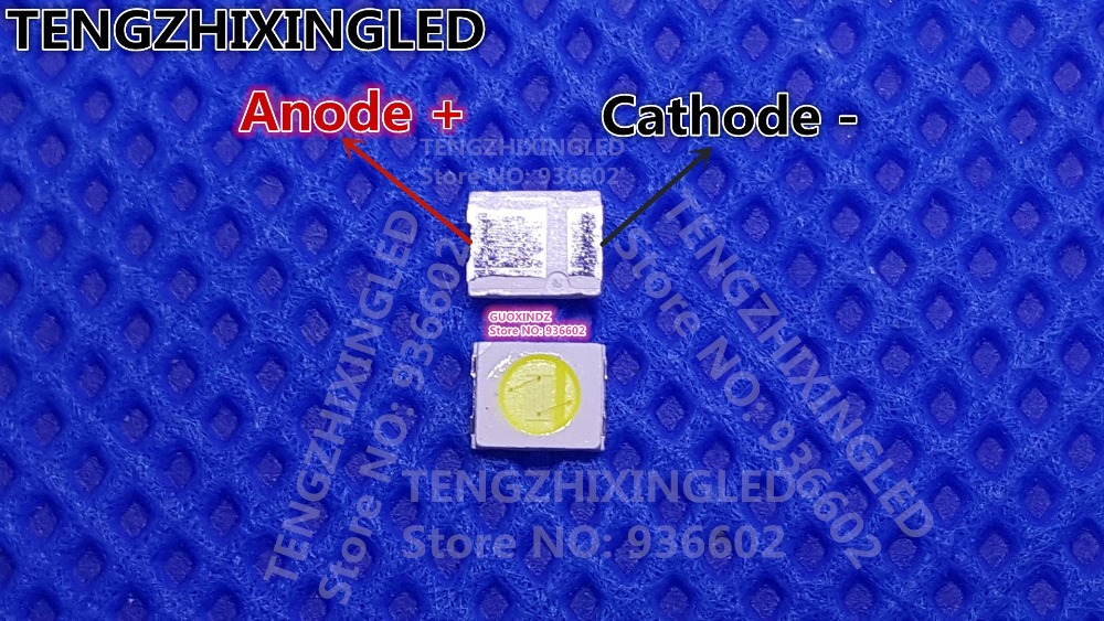 HONGLI TRONIC    SINGLE CHIP   LED Backlight  1210  3528  2835  1W  3V  100LM  Cool white  LCD Backlight for TV   TV Application(China)