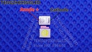 Image 1 - HONGLI TRONIC ÚNICO CHIP LED Backlight 1210 3528 2835 1 W 3 V 100LM branco Fresco luz de Fundo LCD para TV Aplicação de TV