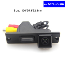 Waterproof CCD Car Reverse Backup Camera for Mitsubishi Pajero/ Zinger/ L200 Rear View Vehicle Camera Free Shipping