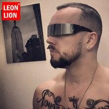 LEONLION Funny Futuristic Wrap Around Monob Costume Sunglasses Mask Novelty Glas