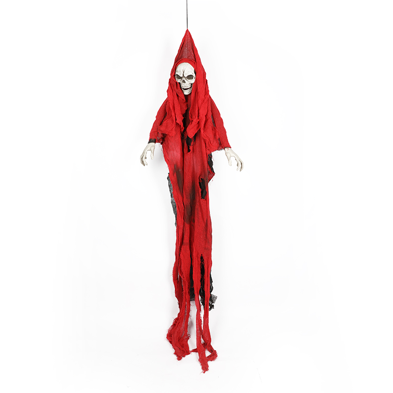 HTB1HtrrXo rK1Rjy0Fcq6zEvVXa5 - 165cm Halloween Hanging Ghost Haunted House Escape Horror Halloween Decorations Terror Scary Props Theme Party Drop Ornament 1pc