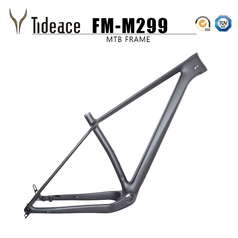 Light Weight 960g Thru Axle 148x12 Boost MTB Carbon Frame 29er Plus Mountain Bike Frames 29 Max 3.0 Tires Bicycle Parts