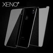 цена на Front and Back 2.5D Tempered Glass for iPhone XR X 8 7 6s plus screen protector iphone 6 6S 5 5s 5c SE XS MAX XR Film Protective