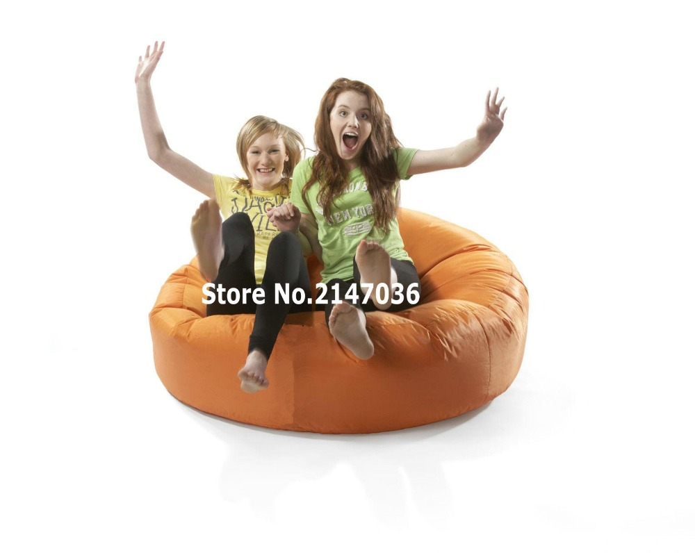 orange island bean bag chair, outdoor sofa cover , family reunion chair ...