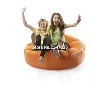 orange island bean bag chair, outdoor sofa cover , family reunion chair