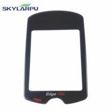 Vidrio de seguridad skylarpu para Garmin Edge 705 Ordenador de Bicicleta con GPS protectora cubierta de vidrio Cubierta de la Lente de cristal reemplazo de la Reparación