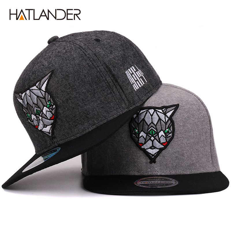 11ff4688ef2 Hatlander 3D Devil Eyes Baseball Caps Retro Gorras Hats Planas Chapeau Flat  Bill Hip Hop Snapbacks