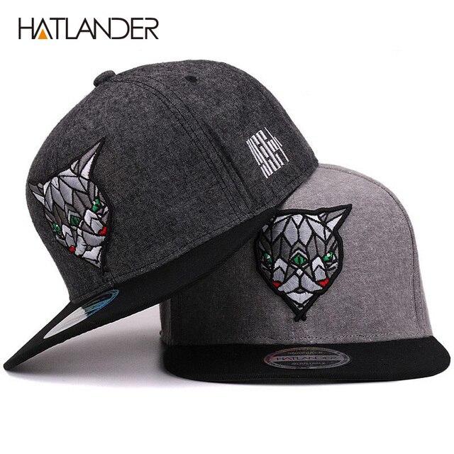 Hatlander 3D Diabo Olhos Bonés De Beisebol Retro Planas Gorras Chapéus  Chapeau Plano Bill Hip Hop ba077ef524e