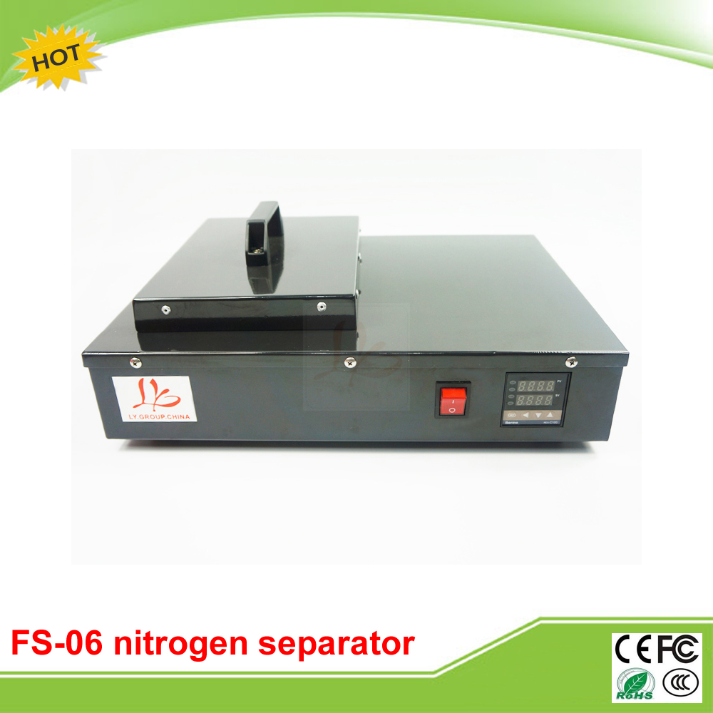 Free tax to Russia FS 06 frozen lcd Separator machine 220V 300W built in Oil free vaccum pump