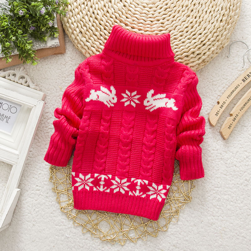Sundae-Angel-Boys-sweater-For-Kids-Baby-Turtleneck-Thick-Long-Sleeve-Rabbit-Cartoon-Winter-2017-baby-girl-sweater-3