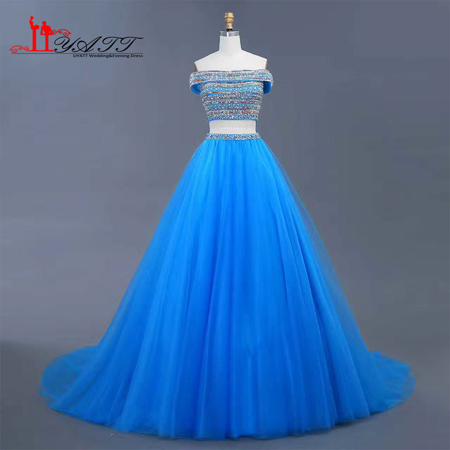 Online Shop New 2017 Cheap Evening Prom Dresses Ball Gown Amazing ...