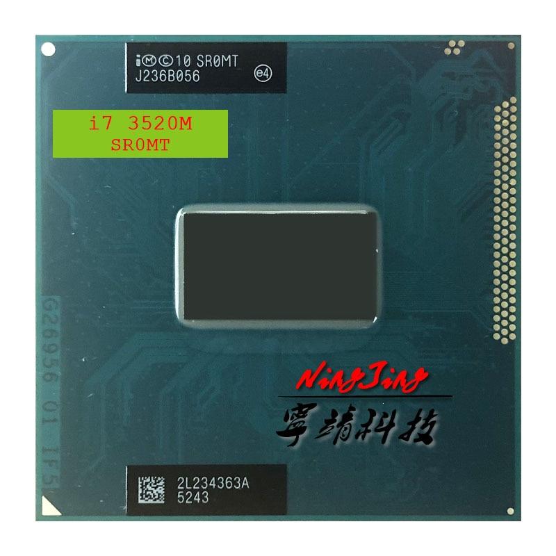 إنتل كور i7-3520M i7 3520 M SR0MT 2.9 GHz ثنائي النواة رباعية موضوع معالج وحدة المعالجة المركزية 4 M 35 W المقبس G2/rPGA988B