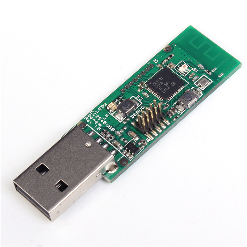 Drahtlose Zigbee CC2531 Sniffer-software-protokoll-analyse Bareboard Paket Protokoll Analyzer Modul Usb-schnittstelle Dongle Erfassen Paket Zigbee Modul