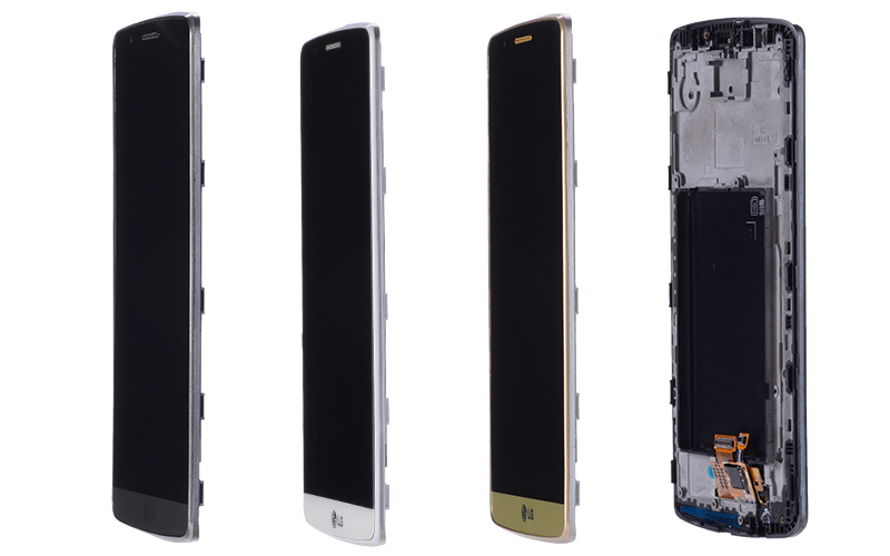 5.5 Original Display for LG G3 LCD Touch Screen with Frame for LG G3 D850 D851 D855 LCD Display Replacement Black Whtie Gold (9)