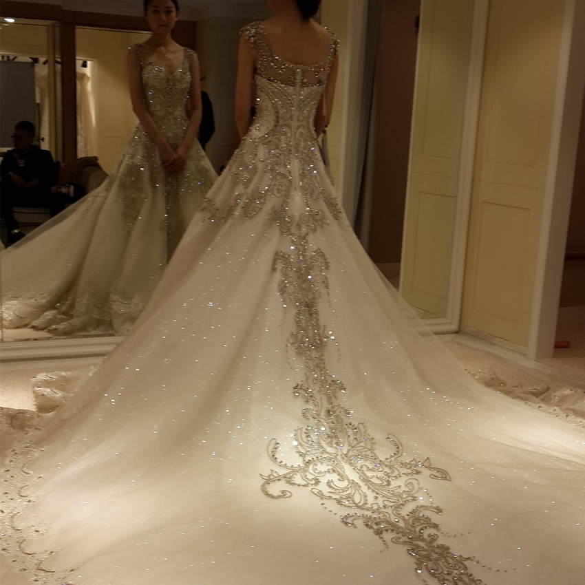Blinged Out Wedding Dresses Fashion