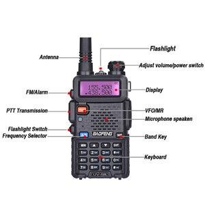 Image 3 - Baofeng UV 5R Walkie Talkie UHF VHF Jagd Radio Baofeng UV 5R Ham Radio Station Handheld Cb Radio Comunicador Transceiver UV5R