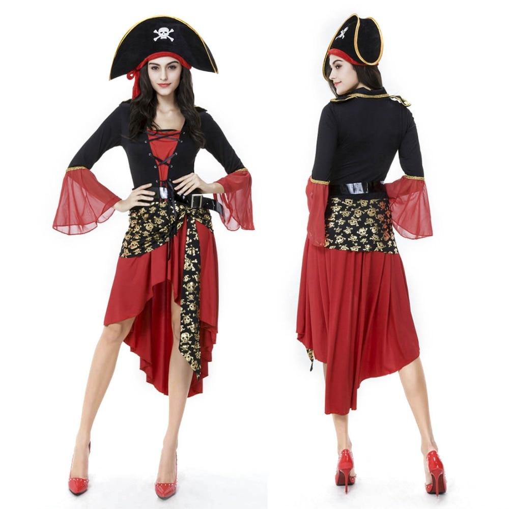 Pirate Costume Pattern New Decoration