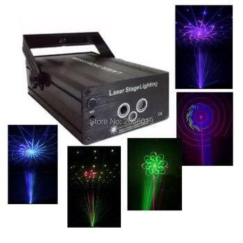Contrôle automatique/sonore rvb éclairage de scène 3 lentilles grands modèles Laser effet d'éclairage de scène DJ fête à la maison spectacle musique fête de noël