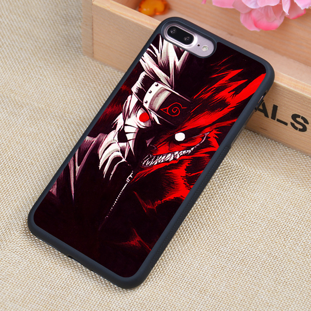 Naruto Uzumaki Soft TPU Phone Case For iPhone