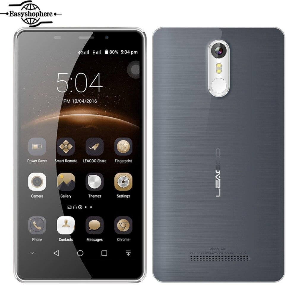 Free Earphone Leagoo M8 Cellphone 5 7 MT6580A Quad Core 2GB RAM 16GB ROM 3500mAh Smartphone