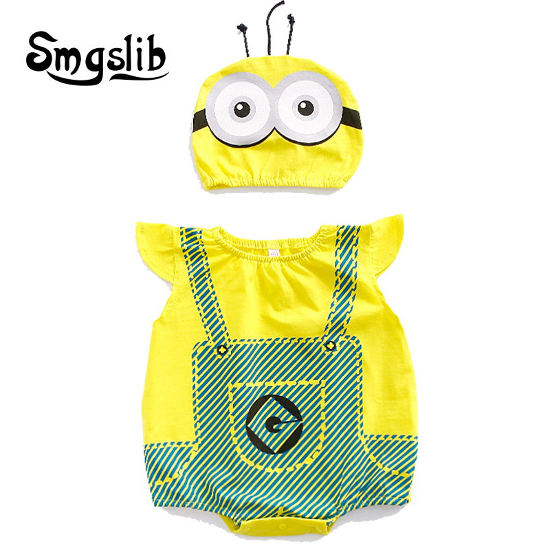 Baby girl summer clothes Cartoon animal jumpsuits baby costume Newborn sleeveless romper toddler playsuit Infant baby boy onesie
