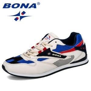 Image 5 - BONA Zapatillas de deporte ligeras y transpirables para Hombre, calzado informal de ocio, para exteriores, 2019