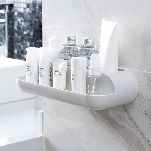 Bathroom free punch wash stand bathroom wall mounted racks restroom ...