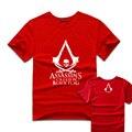 2017 новый Assassin's Creed 4: Black Flag футболки аниме TEE мужчины топ горячие игры Летние тройники женщин girls clothing