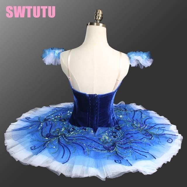 2be38f1bb Online Shop Adult Sapphire blue ballet tutu