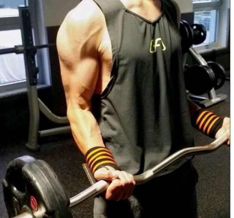 Gym Tank Top Men Undershirt Sports Wear GymShark Singlet Bodybuilding Men\'s Fitness Training Quick-drying Vest Sleeveless Shirt (3)