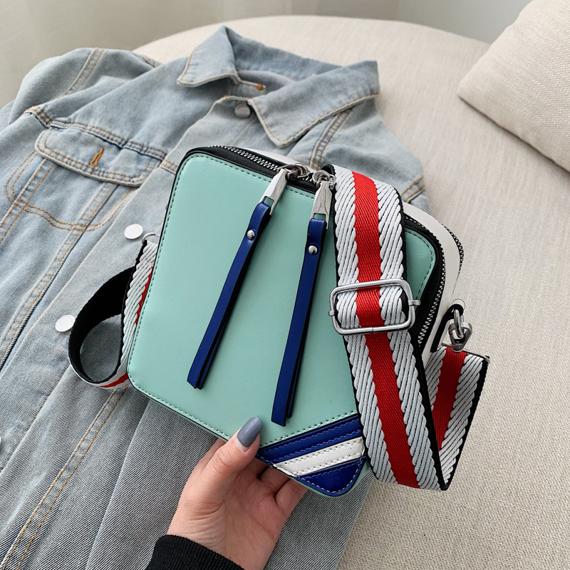 Sling Bag Shoulder Strap Female Small Bags Womens Summer Stylish Handbags For Women Ladies Hand Bags Messenger Crossbody Green