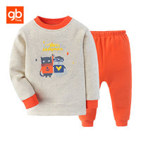 GB Winter Baby Clothing Set Warm Baby Boy Clothes Brand Cotton 6M 5Y Cartoon Pattern T