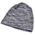 2017 Minimalist men beanie Autumn&winter hats for women mens beanies Knitted bonnet Bilayer gorros girls Turban hat Hip-Hop cap