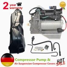 AP03 per la RANGE ROVER SPORT LR3 LR4 Discovery 3 & 4 Compressore Sospensioni Pneumatiche POMPA + COPERTURA LR015303,LR023964,LR044360