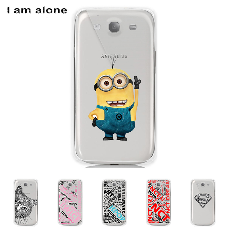 Case For Samsung Galaxy S III S3 I9300 4.8 inch Solf TPU Silicone Shell Color Paint Mobile Phone Cover Bag Cellphone Skin Mask